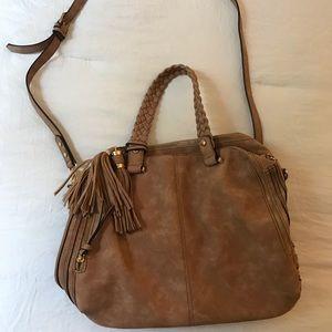 Handbags - Large brown shoulder bag